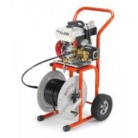 RIDGID KJ-2200 Motorová tlaková vodná čistička pre potrubia 32-150 mm